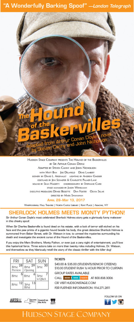 The Hound of the Baskervilles Regular Production